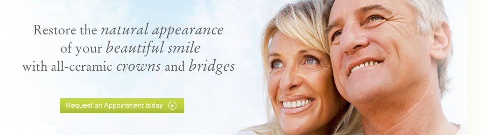 Request a crowns and bridges appointment today