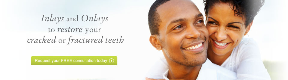 Request your Free dental implays and onlays appointment