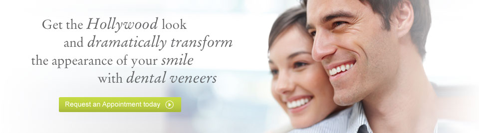 Request a dental veneers appointment